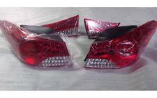 LED Rear Tail Lights Lamp Assy whit LED Turn 4p For 11 12 Hyundai Elantra MD