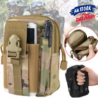 Tactical Waist Bag Military Wallet Pouch Belt Molle Multi Purpose Pack Utility