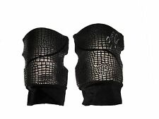 WWE NXT FINN BALOR RING WORN HAND SIGNED BLACK KNEEPADS WITH PIC PROOF AND COA 1