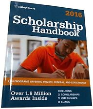 Scholarship Handbook 2016 (College Board Scholarsh