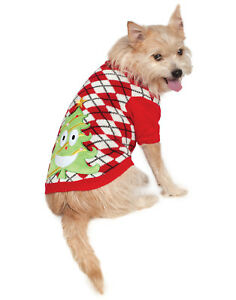 Ugly Pet Dog Cat Christmas Party Costume Sweater With Tree