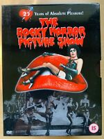The Rocky Horror Picture Show DVD 1975 Cult Musical Comedy Classic  2-Disc Sp Ed