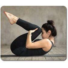 Rectángulo MOUSE MAT-Yoga Pose Studio Gimnasio #46517