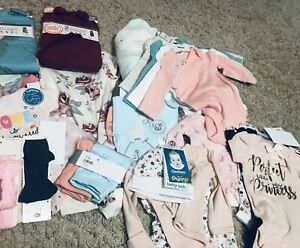 baby girl clothes lot new
