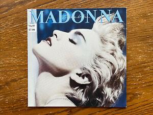 Madonna VINYL LP True Blue 1986 Sire WX 54 925442-1 Ex/Ex #2