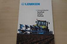 158058) Lemken Untergrundpacker VarioPack FixPack FlexPack Prospekt 01/2014