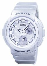 Casio Baby-G Shock Resistant World Time Analog Digital BGA-195-8A Womens Watch