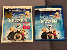 Frozen Blu-Ray+DVD Collector's Edition with Slipcase MINT Coco Lion King Disney