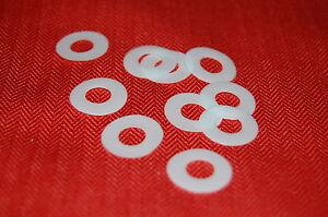 10 x Teflonscheiben Gleitscheiben 10 x 20 mm neu, Made in Germany