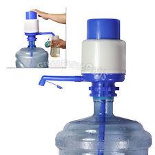 5 Gallon Bottled Drinking Water Hand Pump Press Easy Manual Dispenser Large
