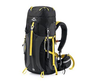 Hiking Backpack Lightweight 55L – Black