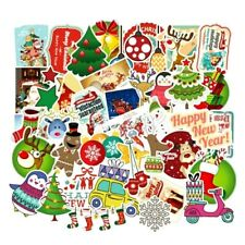 20 Lovely Large CHRISTMAS  Art Stickers Decorations // Cards // Presents  etc