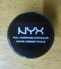 1 jar NYX FULL COVERAGE CONCEALER SAND BEIGE sealed NWOB