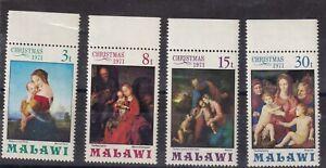 MALAWI 1971 Xmas set MUH (0539)