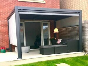 Chelsea Gazebo/Pergola with louvered vented roof SELLING OUT FAST