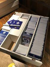 Upper Deck 2017 Toronto Maple Leafs Centennial Set Singles, Die Cuts, and Insert