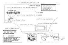 1968 CHEVROLET CHEVELLE SS 396 EMBLEM TEMPLATE KIT