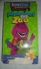 Barney & Friends Collection Barney's Alphabet Zoo VHS Tape 1994 Lyons Group