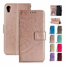 For Sony Xperia XZ3 XZ2 XZ1 XA2 XA1 Z5 L1 L2 Magnetic Leather Wallet Case Cover