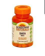 Sundown Naturals DHEA Tablets, 50mg - 60 ct