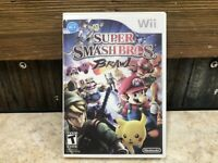 Super Smash Bros. Brawl Nintendo Wii, 2008 **DISC ONLY READ**  TESTED  #3