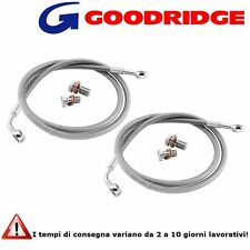 Tubi Freno Goodridge in Treccia Honda CBF600 N (04-07)