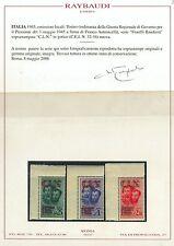 ITALIA -  CLN TORINO Flli Bandiera CEI 32/34 NUOVI - Certificato RAYBAUDI