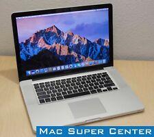 """Apple MacBook Pro 15"""" - 2.4GHz Intel i5  4GB Ram  320GB HD  macOS Sierra  2010"""