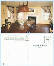 Oakley Plantation House Interior Dining Room St Francisville Louisiana Postcard