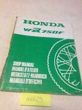 suplemento manual de taller Honda VFR750F VFR750 F VFR 750 Shop manual Ed. 88