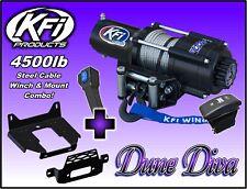 4500 lb KFI Steel Winch Mount Combo - 2014-18 Polaris RZR 900 XP 1000 General