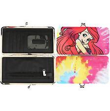 Loungefly Disney The Little Mermaid Ariel Tie Dye Kisslock Hinge Wallet Clutch