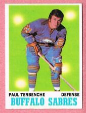 1970-71 70-71 O-PEE-CHEE OPC #123 Paul Terbenche SET BREAK (3)