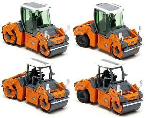 Schuco - Hamm HD+ 110 Straßenwalze Tandemwalze Walze orange Auswahl - 1:87 H0