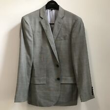 J.Crew Ludlow Stretch Worsted Wool Slim Fit Suit Jacket Mineral Grey 38S