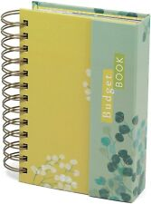 More details for press budget book undated planner organizer with expense trackers 18 x 11.5cm