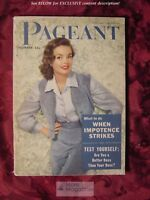 PAGEANT December 1953 ESTHER WILLIAMS MERMAIDS at Cypress Gardens Actress Backs