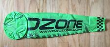 Large Green Ozone Wind Sock for Paramotoring and Paragliding