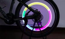 Luz Led Multicolor Tapon de valvula Llanta Rueda de Coche Moto Bici Bicicleta