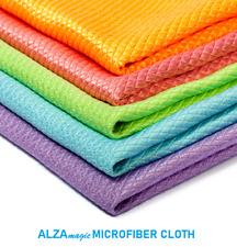 Alza Magic 2 Pcs. Eco Friendly Microfibre Cloth Clean Kitchen Glass Windows