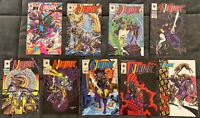 Lot of 9 Ninjak Valiant Comics 1-9 1994 lots of first appearances All VF+ & NM