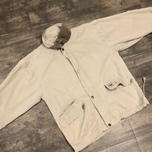 Vintage Duxbak Hunting Jacket Men Size Medium Khaki