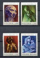 35898) Poland 1975 MNH Dunikowski 4v.Scott #2126/28 + B131