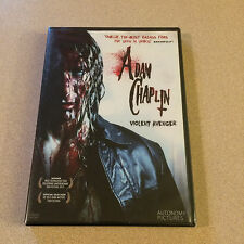 Adam Chaplin - Violent Avenger DVD Autonomy Pictures Hard To Find New Sealed