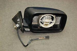 Used # BMW e34 520i 525i 540i Outside mirror complete non heated 51168137370