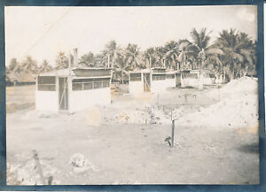 1944-45 WWII Guam 56TH AIR DEPOT Repair Sq Photo The Famous 8 Seaters