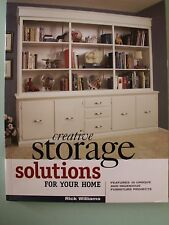 Creative Storage Solutions for Your Home : Includes 10 Beautiful Furniture...