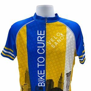 Primal Raglan Cycling Jersey Men's Large Velosano Bike To City