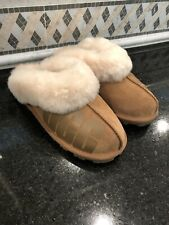 Women's UGG Coquette UGG Rubber slippers- size 7- #1108232- Chestnut