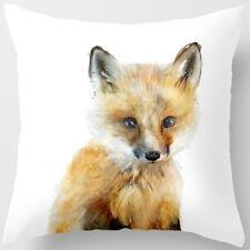 18 Inch Cute Animal Pillow Cover Throw Pillow Case Sofa Cushion Cover Home Decor